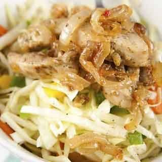 Asian Chicken Salad with Honey Sesame Dressing Recipe