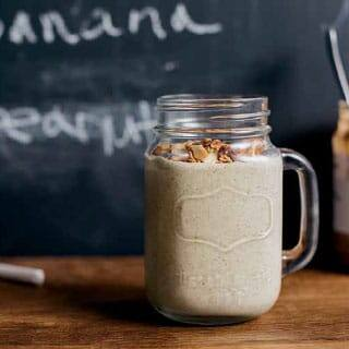 Choco Nut Butter Protein Shake Recipe