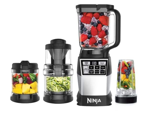 Ninja Reg 4 In 1 Kitchen System Trade Blender Processor Spiralizer