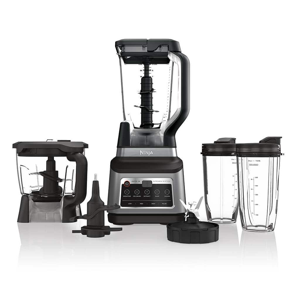 Ninja Countertop Blender System with Auto iQ Technology Refurbished
