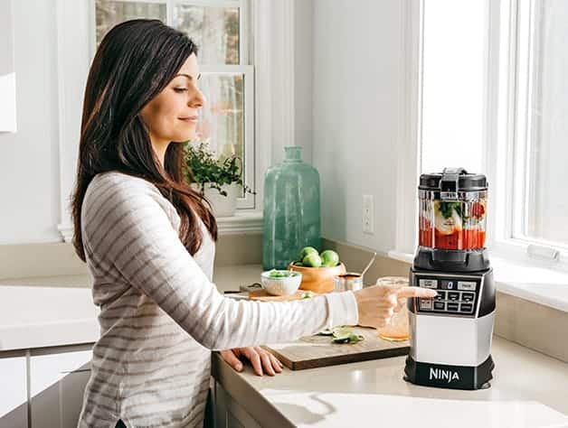 Ninja 4 In 1 Kitchen System Blender Processor Spiralizer