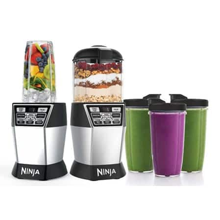 Nutri Ninja® Nutri Bowl™ DUO™ with Auto-iQ Boost™ (NN100A)