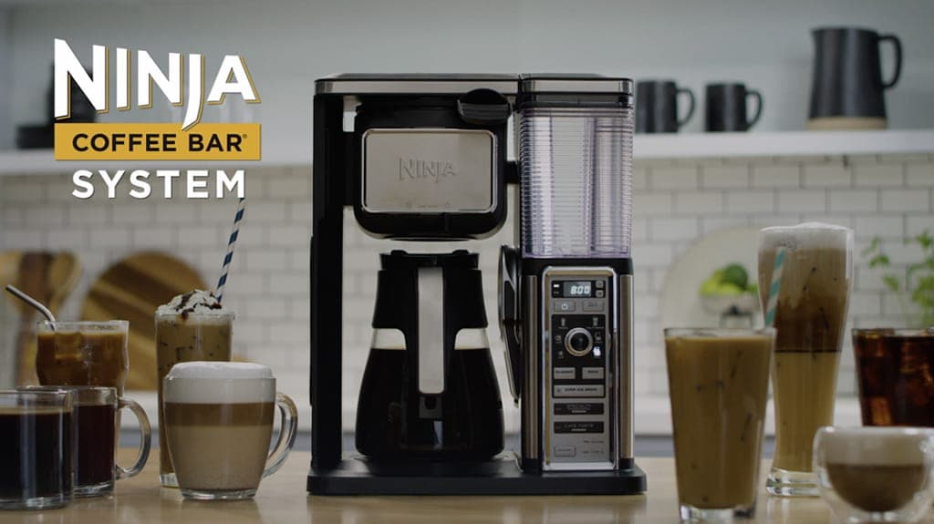 8c0a3740b2f Ninja Coffee Bar reg  Glass Carafe System. Your browser does not support  the video tag.